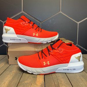 Under Armour Project Rock 2 Red Silver Size 12